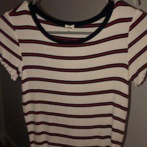Garage Striped Tight Shirt